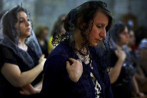 APTOPIX-Mideast-Iraq-Fleeing-Christians